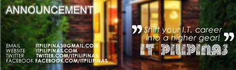 IT Pilipinas Announcement