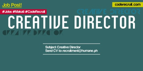 coderecruit - creative director